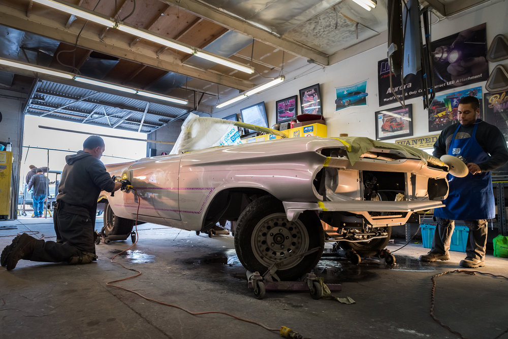 Still photo from upcoming documentary and photography project on lowriders
