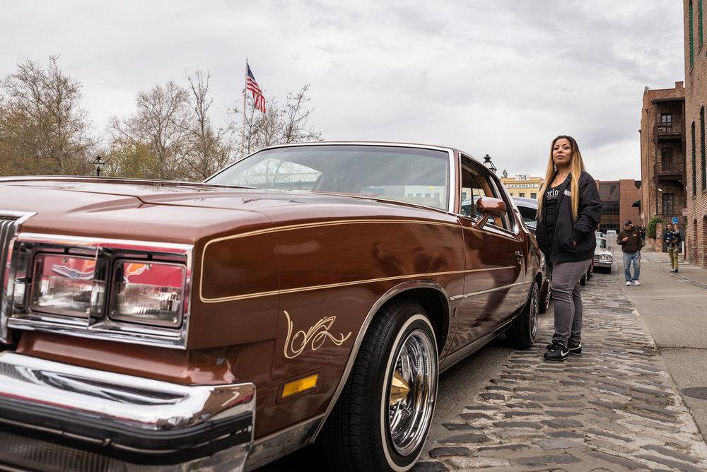 Flora Ramos, Socios Car Club, Sacramento