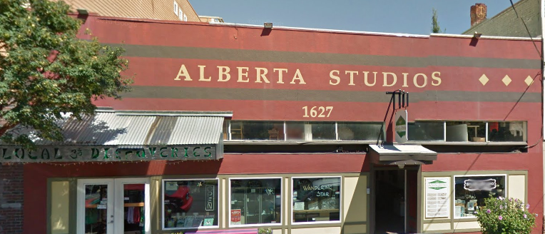 StuStuStudio is located inside the Alberta Arts Building- first door on your right after entering the main doorway.