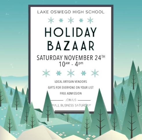 Lake Oswego High School HOliday Bazaar.png