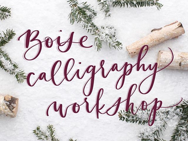 Hi! Want something fun to do next Saturday morning? How about hanging out with me and learning calligraphy? I'll give you all the skills, supplies, and instruction you need to create your own gorgeous modern calligraphy. 💕 Sign up link in my profile!
