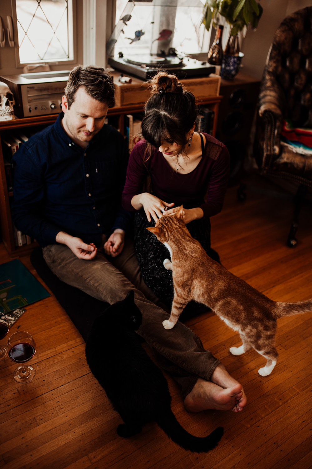 louisville-engagement-photographer-record-store-in-home-session-crystal-ludwick-photo (21 of 53).jpg