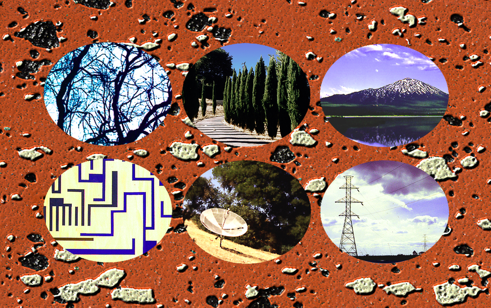 Postcard   Digital Collage Size variable