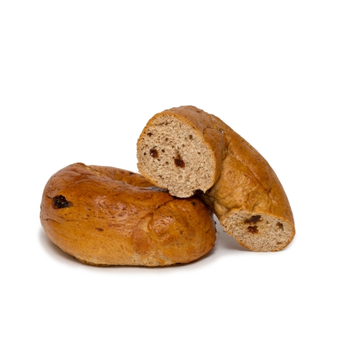 Cinnamon Raisin Plain Bagels