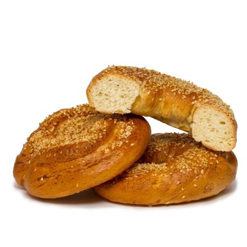 Sesame Seed Plain Bagel