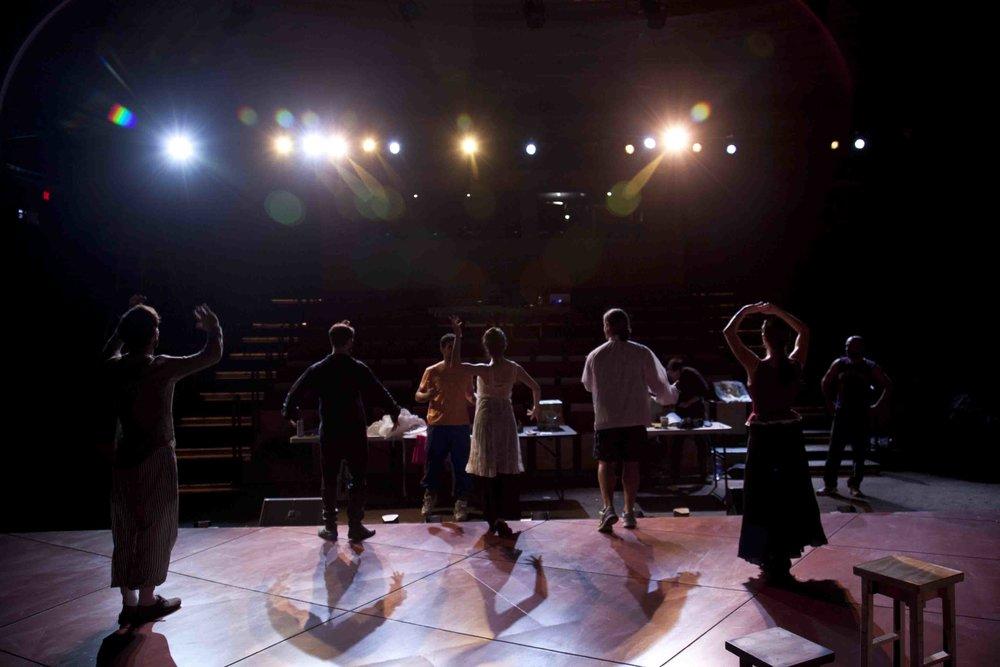 Cabaret in Rehearsal.JPG