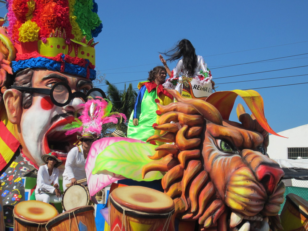 Carnaval de Barranquilla. By Ashley Bayles. Available  here .