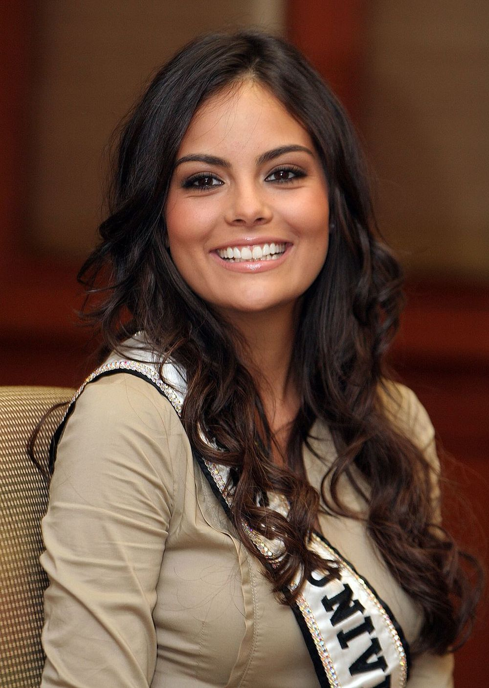 Ximena Navarette, Miss Universe 2010. She is from Guadalajara, Mexico. Source:  Flickr / Abhisit Vejjajiva, available here.