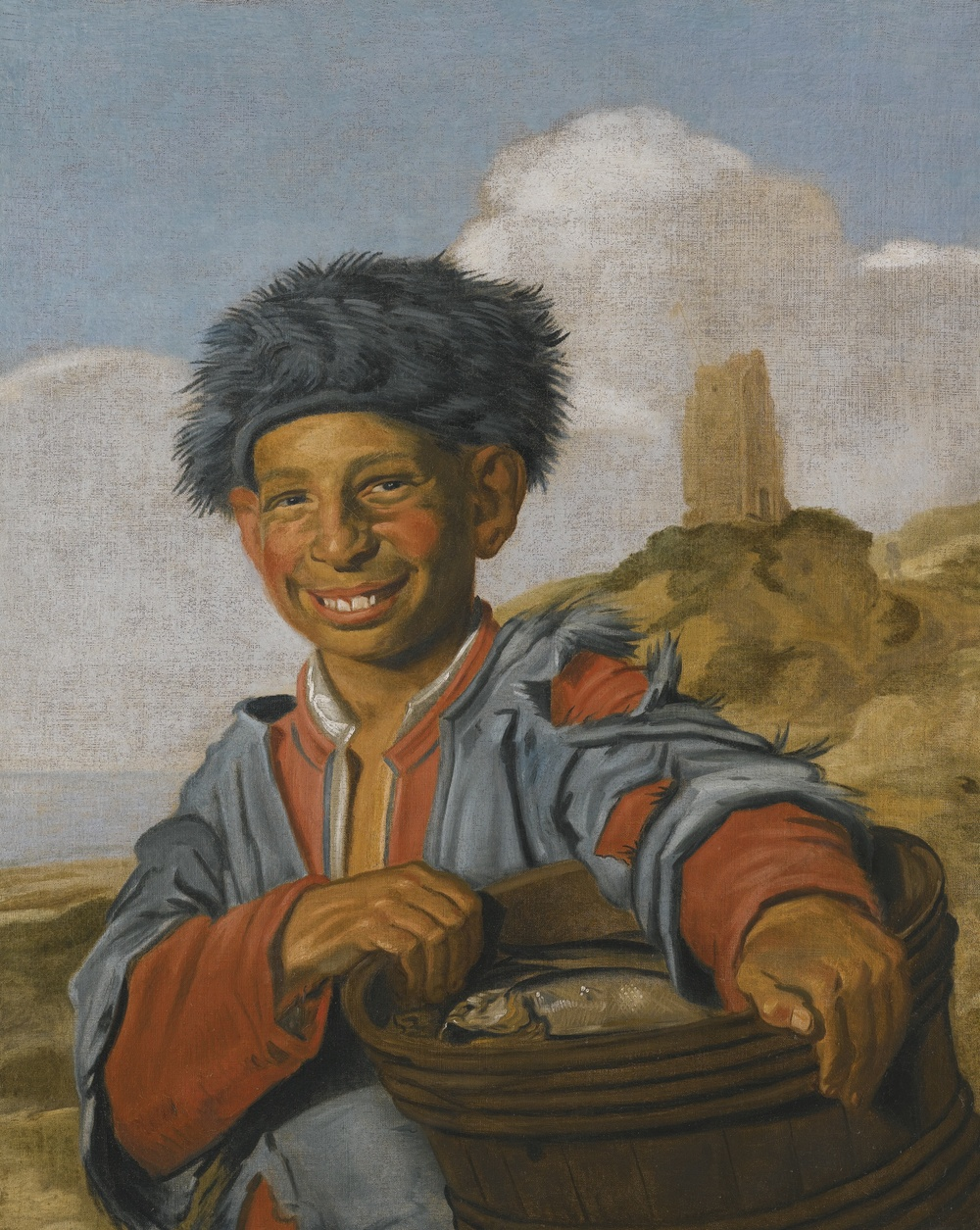 The  Laughing Fisherboy  by Frans Hals. Available  here .