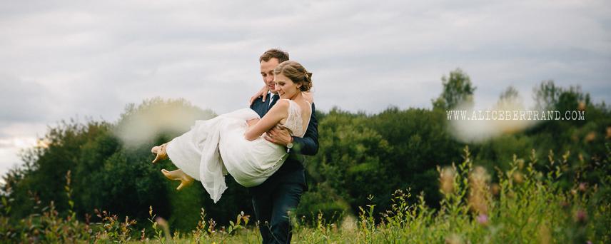 mariage romantique et rétro morbihan