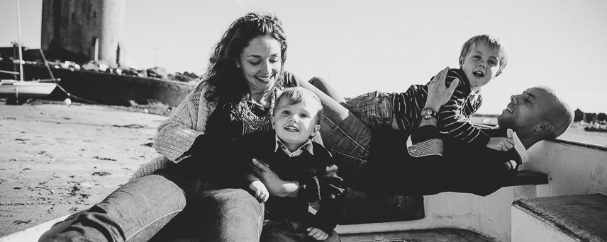 séance photo famille saint malo bord de mer