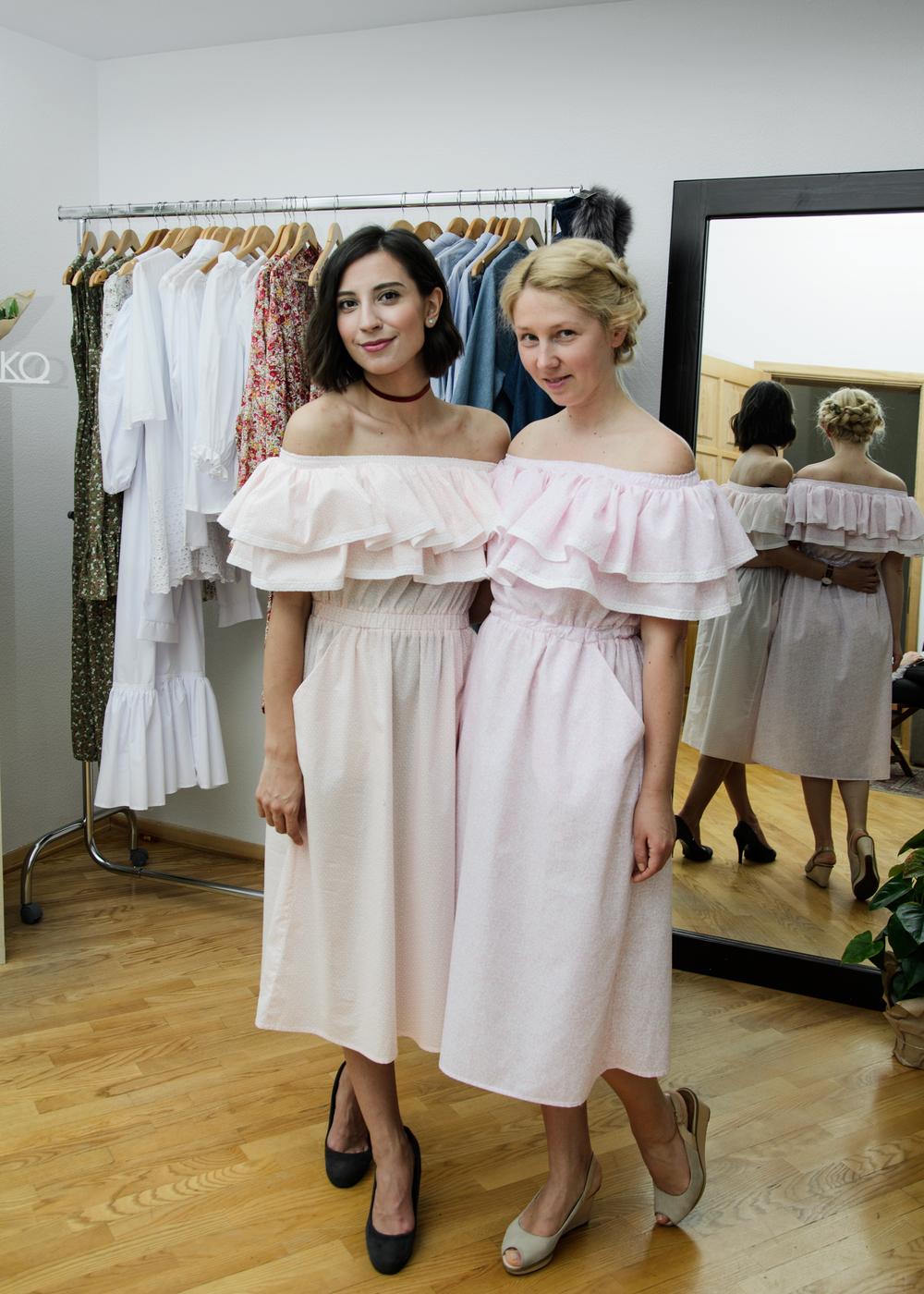 С Юлией Монаковой (Fashion Office)