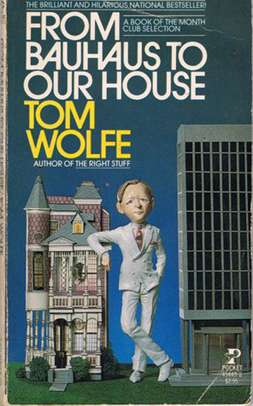 Amfitheatrof's favourite book is Tom Wolfe's From Bauhaus to Our House which makes a controversial argument for ornamented architecture.
