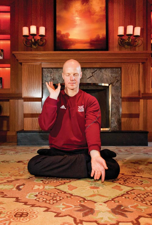 The meditation component of Falun Gong, along with its guiding principles, gave Rubenis a competitive advantage.