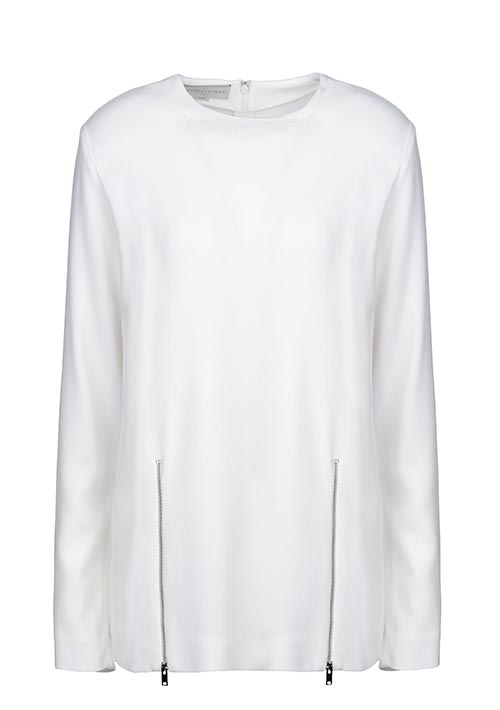 Stella McCartney tops Gray's charts in black or white.