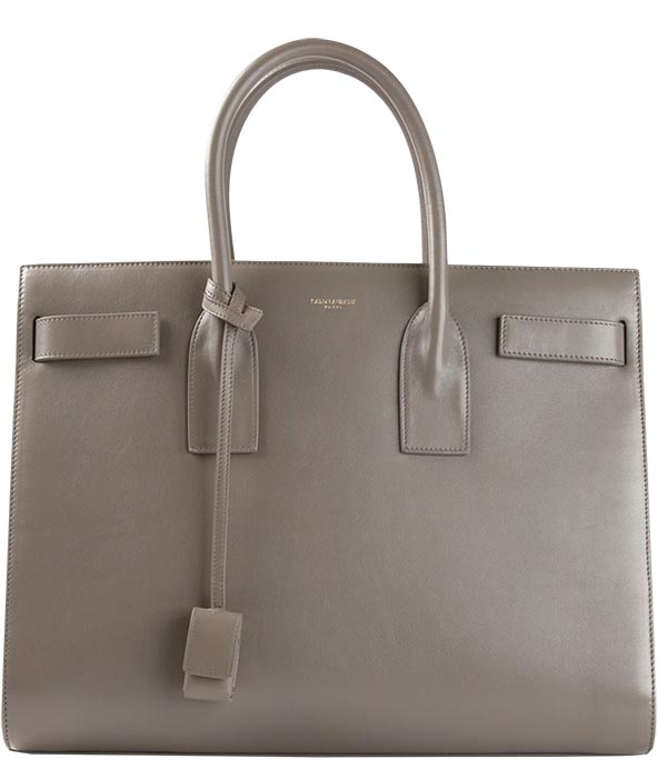 "An Yves St. Laurent bag ""holds everything for business, but it's dressy for dinner too."""