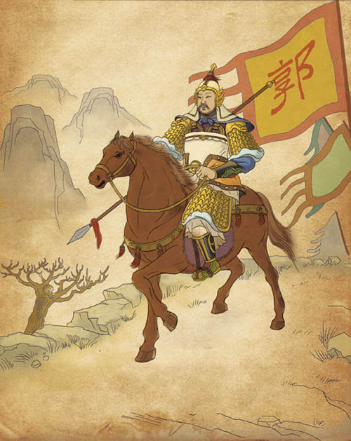 One of the most famous, well-respected generals in Chinese history, Guo Ziyi served four emperors. Earlier in his life, he achieved a martial artist's highest rank in Imperial Examinations. But when he became prime minister without the usual liberal arts background, he entered the rank of legend.