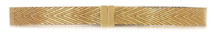 GivenchyWaist Belt in Gold Tone Brass US$2,550