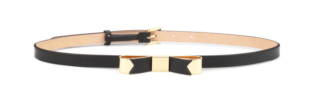 Ted Baker Bowsa Skinny Bow BeltUS$90