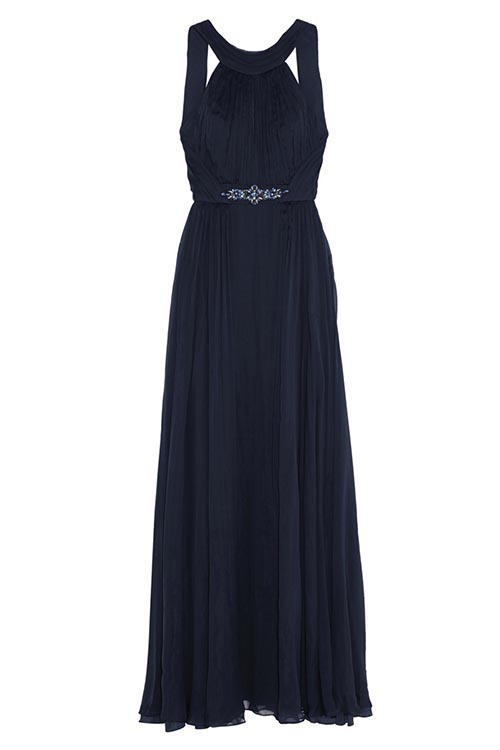 Matthew Williamson Silk Chiffon Keyhole Evening GownUS$2,995