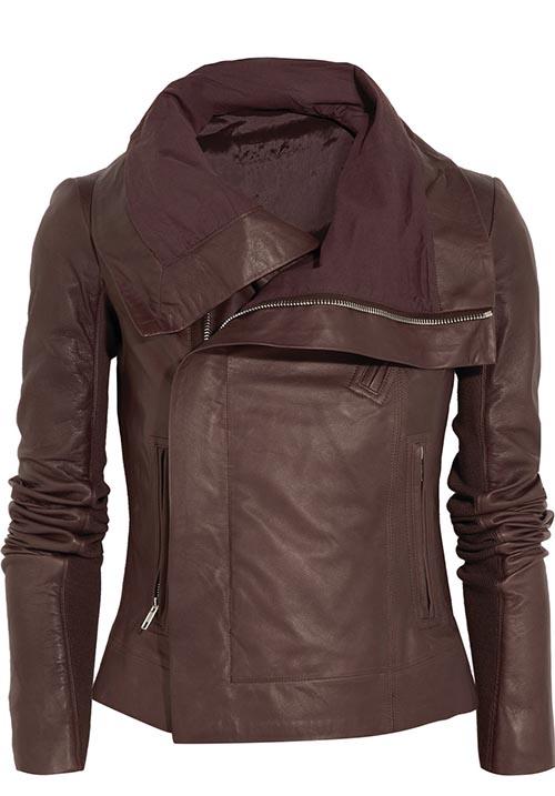 Rick Owens Leather Jacket$1,486