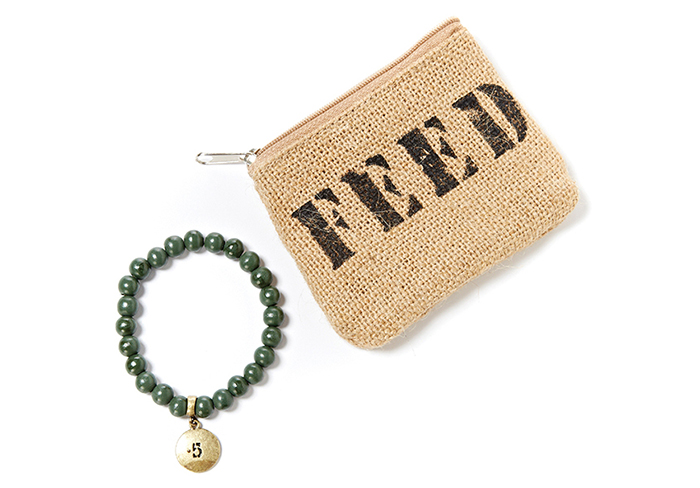 Feed Bracelet and Pouch $26
