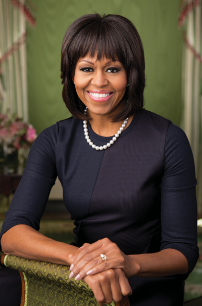 Michelle Obama(Chuck Kennedy/The White House via Getty Images)
