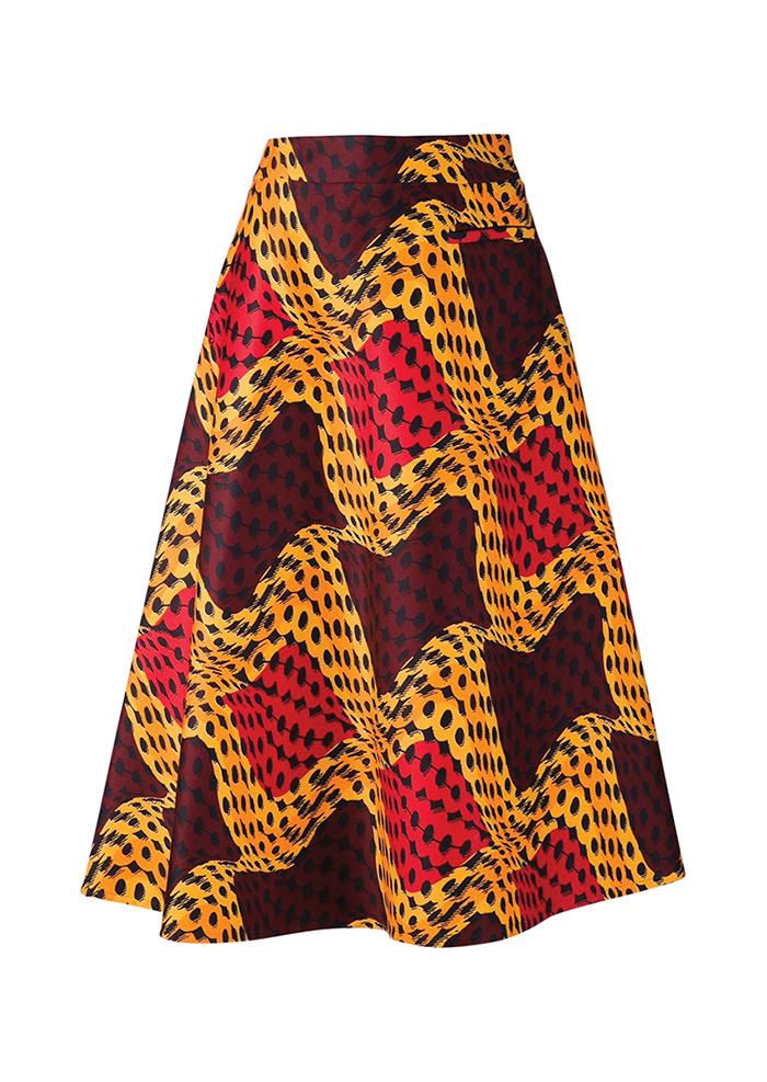 Stella Jean Printed Skirt  $1,055