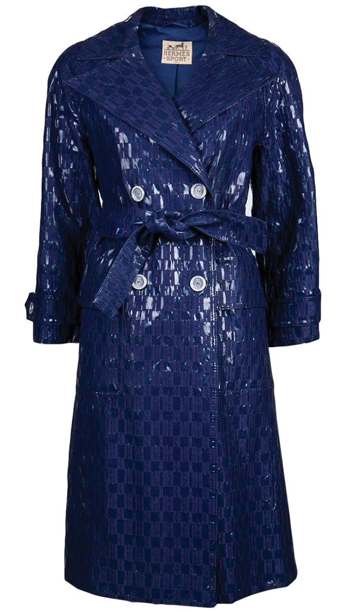 Hermès Vintage 1960's Monogram Raincoat $7,351