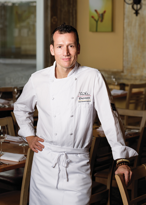 Jean-Francis Quaglia, chef and owner of Provence Mediterranean Grill and Provence Marinaside, started making desserts — Lemon Tarte and Chocolate Cake — at a tender age of eight, when most kids were playing with Barbie dolls and Legos.
