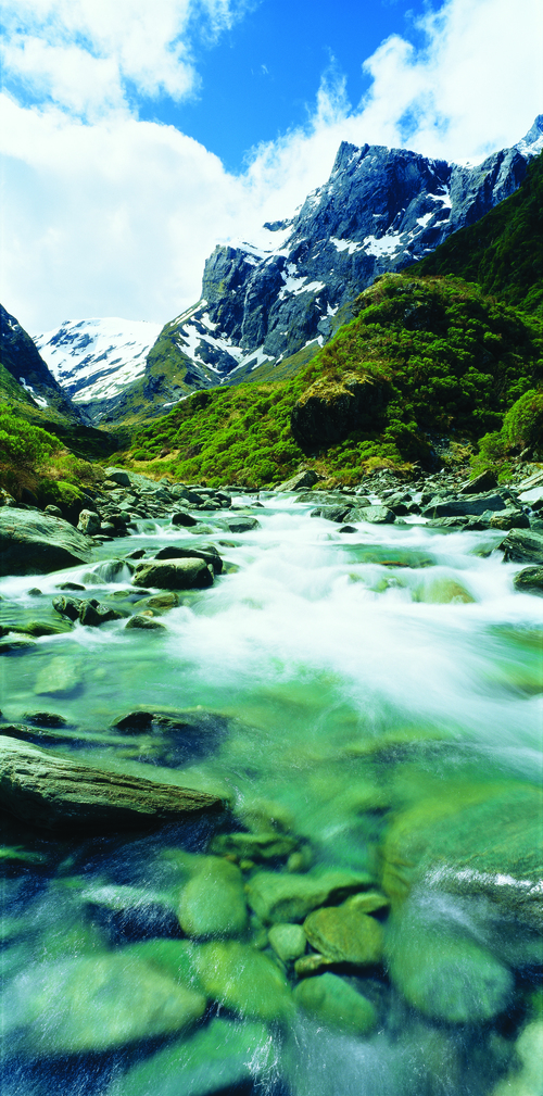 The pristine beauty of New Zealand's landscapes brings to life Tolkien's descriptions of a wondrous world.
