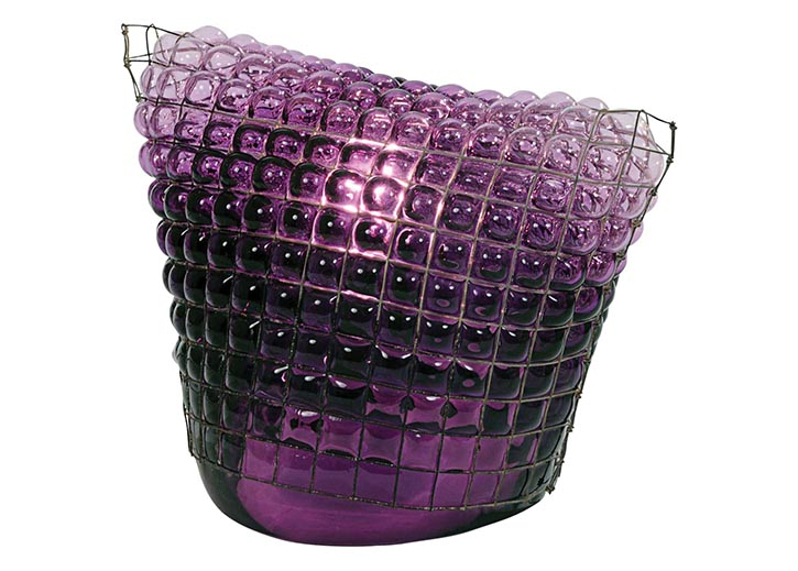 Roche-Bobois Tower Purple Lamp  $714 At Roche Bobois, roche-bobois.com, 604 633 5005