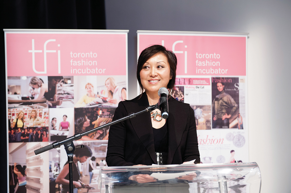 Toronto Fashion Incubator CEO, Susan Langdon, guru for fledgling Canadian designers.