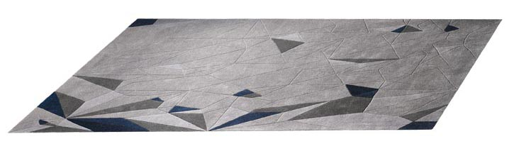 BoConcept Flash Rug, $779 Ever-changing geometric patterns create eye-catching effects. Handmade. At BoConcept, 604 730 8111 boconcept.ca