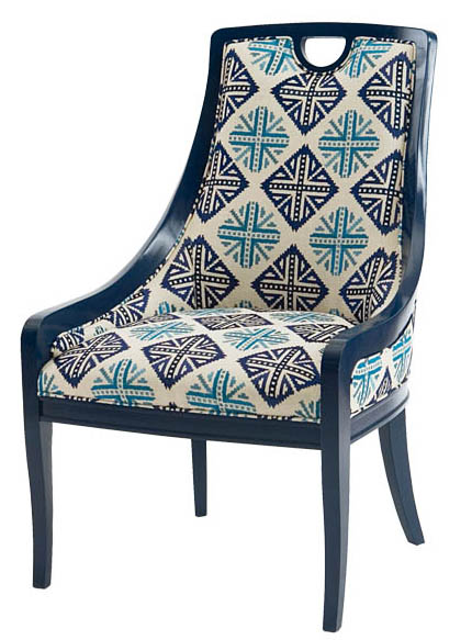 Century Furniture Matlock Chair, Start at $1,595 A smooth, curving drop, the backrest and armrests echo the subtle curve of the chair legs. Available in different fabrics. At Paramount Furniture, 604 273 0155 paramountfurniture.ca