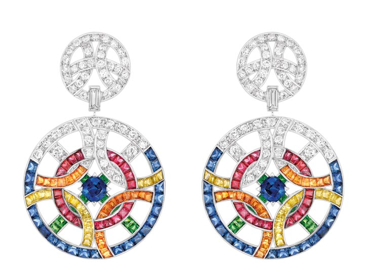 Café Society Earrings Chanel