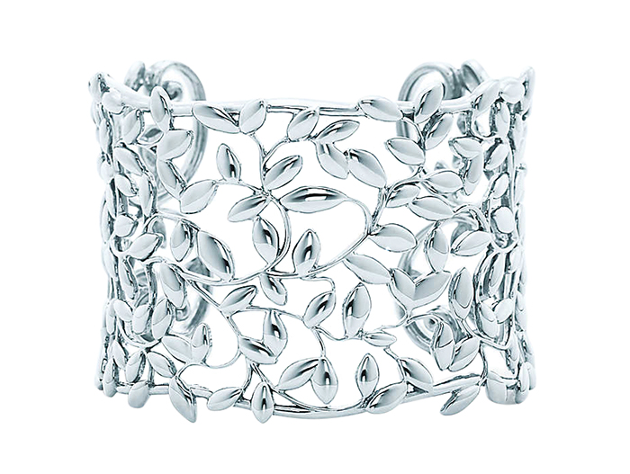 Tiffany Olive Leaf Cuff  $1,250