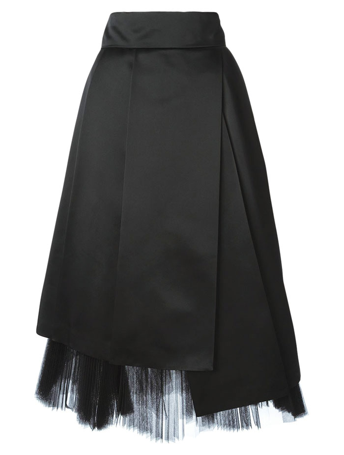 Marc By Marc Jacobs A-Line Netting Skirt $1,513.83