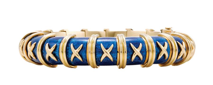 Tiffany Croisillon Bracelet $34,700