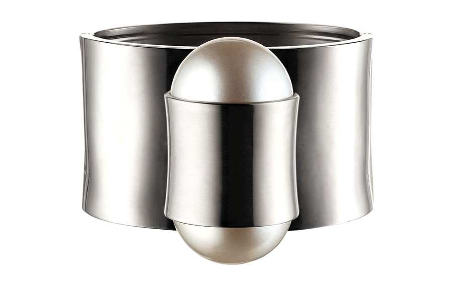 Chanel Silver Cuff Price Upon Request