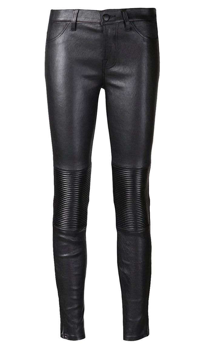 J Brand Leather Nicola Moto Skinny $1,286.20