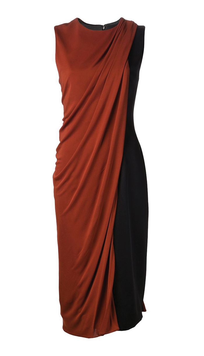 Jason Wu Draped Overlay Sheath Dress  $1,925