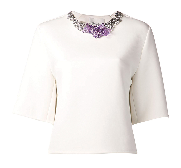 3.1 Phillip Lim Encrusted Neck Shirt 3.1 Phillip Lim Top $764