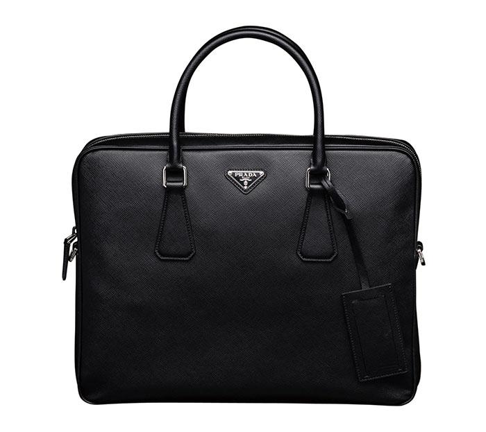 Mens prada briefcase