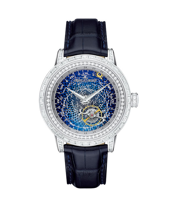 Jaeger-LeCoultre Master Grande Tradition Tourbillon Céleste, Price Upon Request Own a piece of the night sky. Every 24 hours, the sun completes one revolution around the diamond rim, passing by the signs of the zodiac. At Palladio, Palladiocanada.com