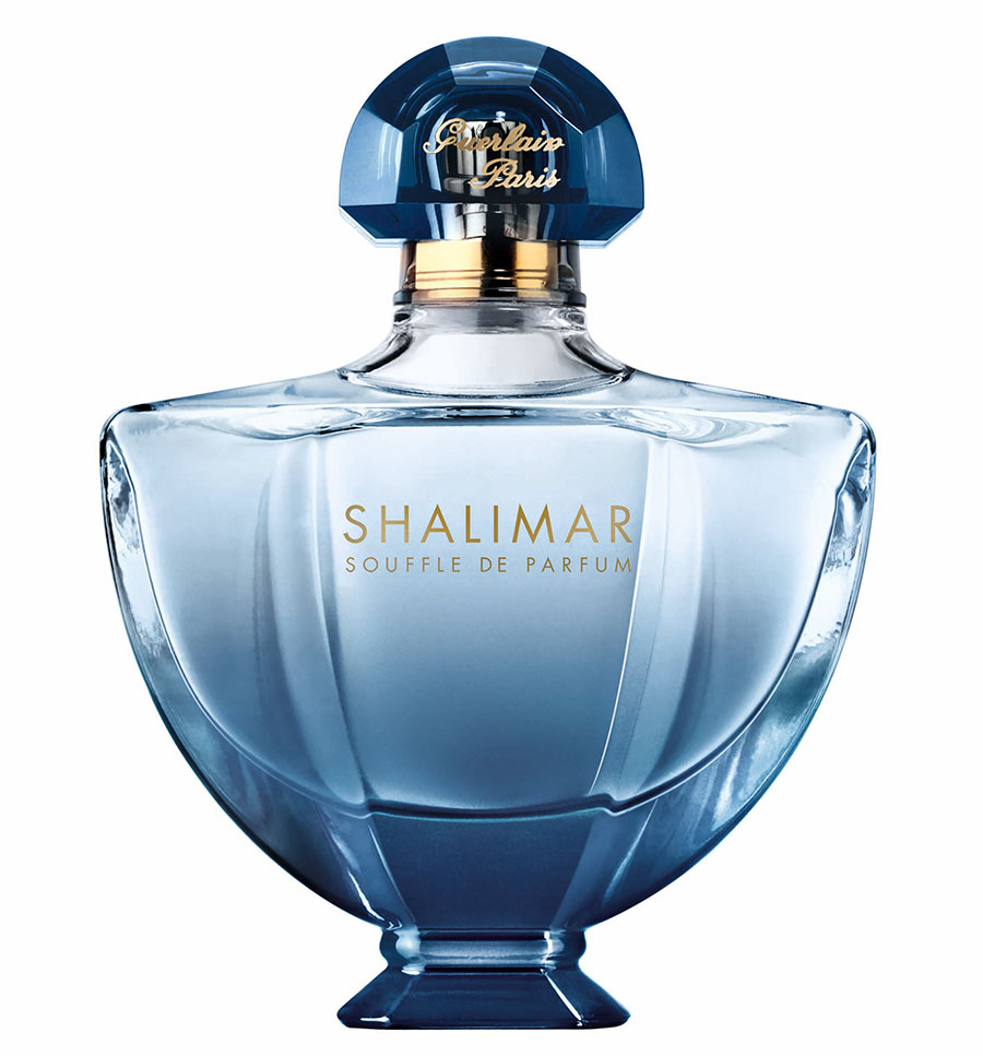 Guerlain Shalimar Souffle de Parfum $108/50ml Guerlain nose Thierry Wasser breathes new life into this oriental fragrance, inspired by a legendary love story and designed to be worn like a precious jewel. Guerlain.com