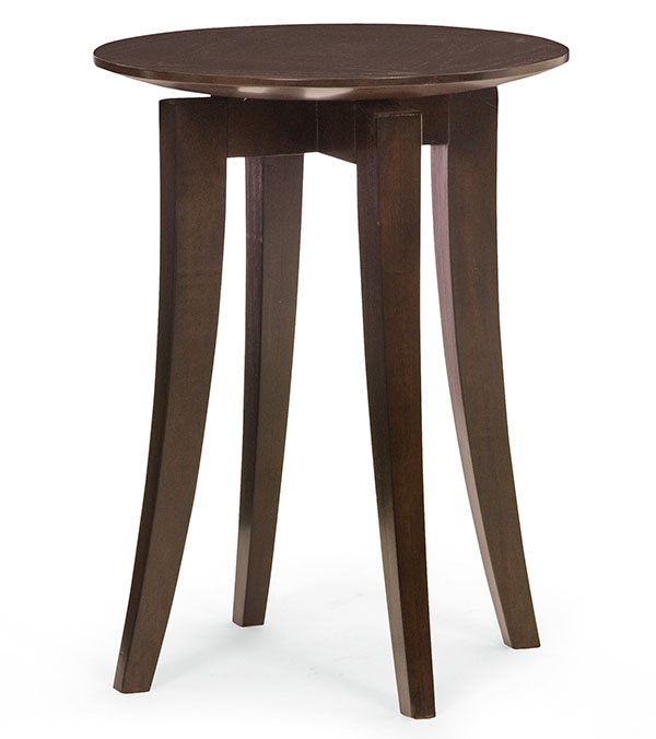 Bernhardt Furniture Mercer Chairside Table, $499 A gravity-defying table-top perfectly exemplifies the ancient philosophy of a circular Heaven hanging in harmony above the square Earth. At Paramount Furniture, 604 273 0155 paramountfurniture.ca