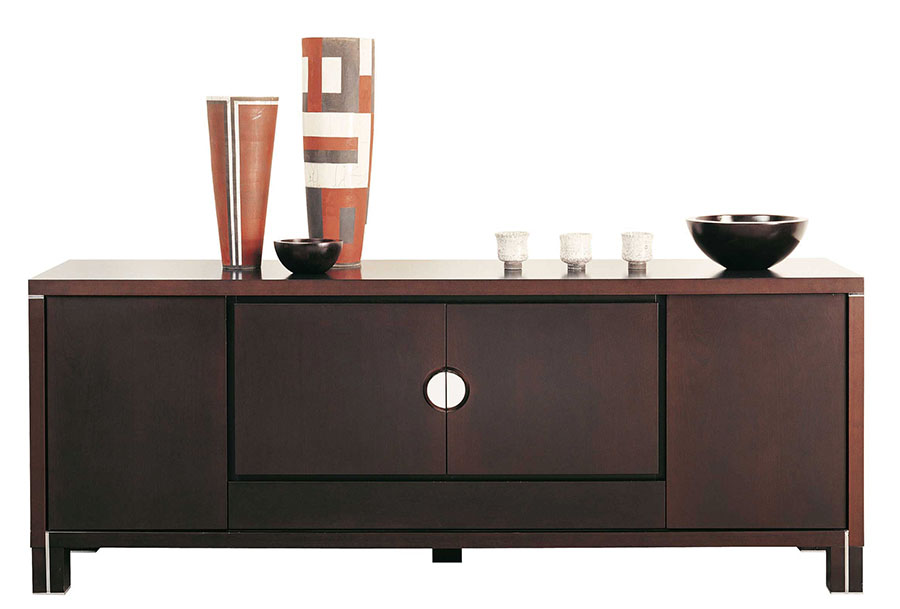 Roche Bobois Arbalete Sideboard, $8,515 The marriage of circle and square reflect the harmony of Heaven and Earth, as the doors of simple balance open with this timeless piece. At Roche Bobois, 604 633 5005 roche-bobois.com