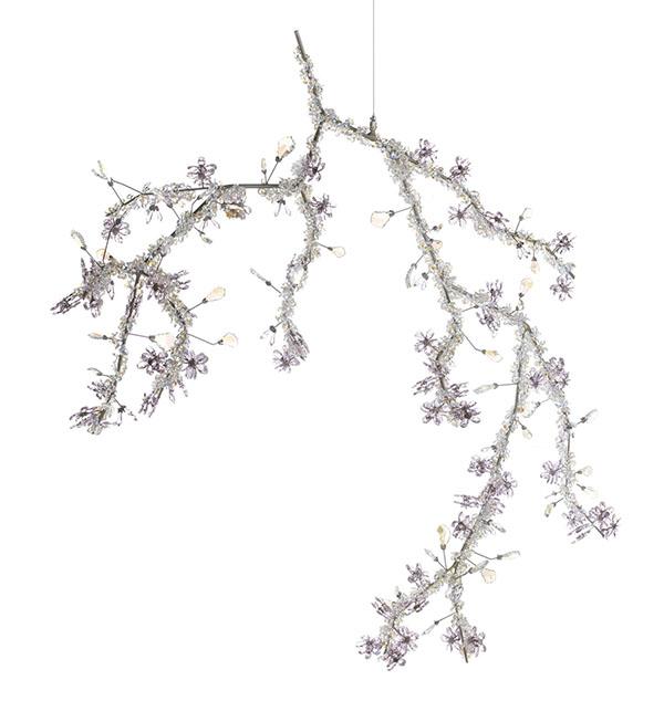 Swarovski Blossom Crystal Chandelier, Price Upon Request thelightingwarehouse.com, 604 270 3339