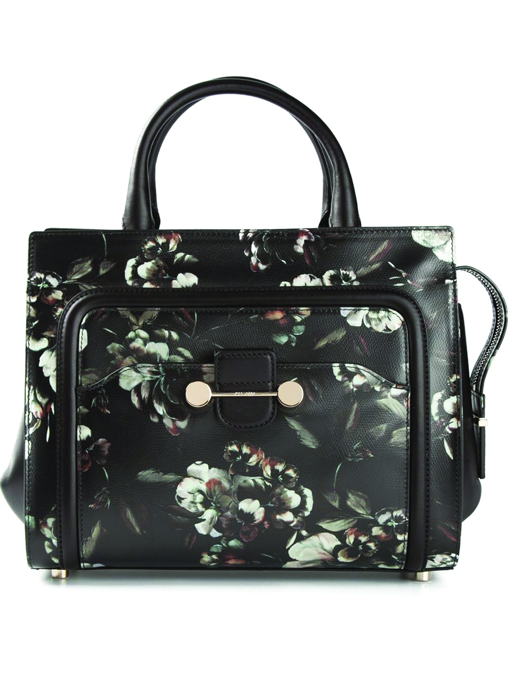 Jason Wu Cross Body Bag. $3,510.78 Jason Wu puts a dark, painterly spin on florals. Gold-toned hardware adds a luxe touch to this leather satchel, with shoulder strap and round handles. At Farfetch.com